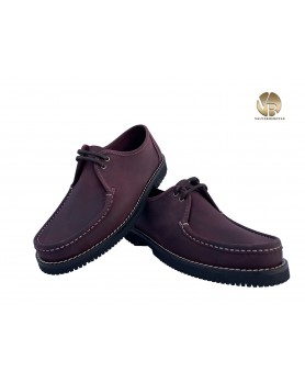 Zapato Comanche Cordones Rubí